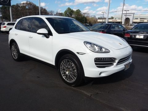 Used PORSCHE CAYENNE PLATINUM EDITION