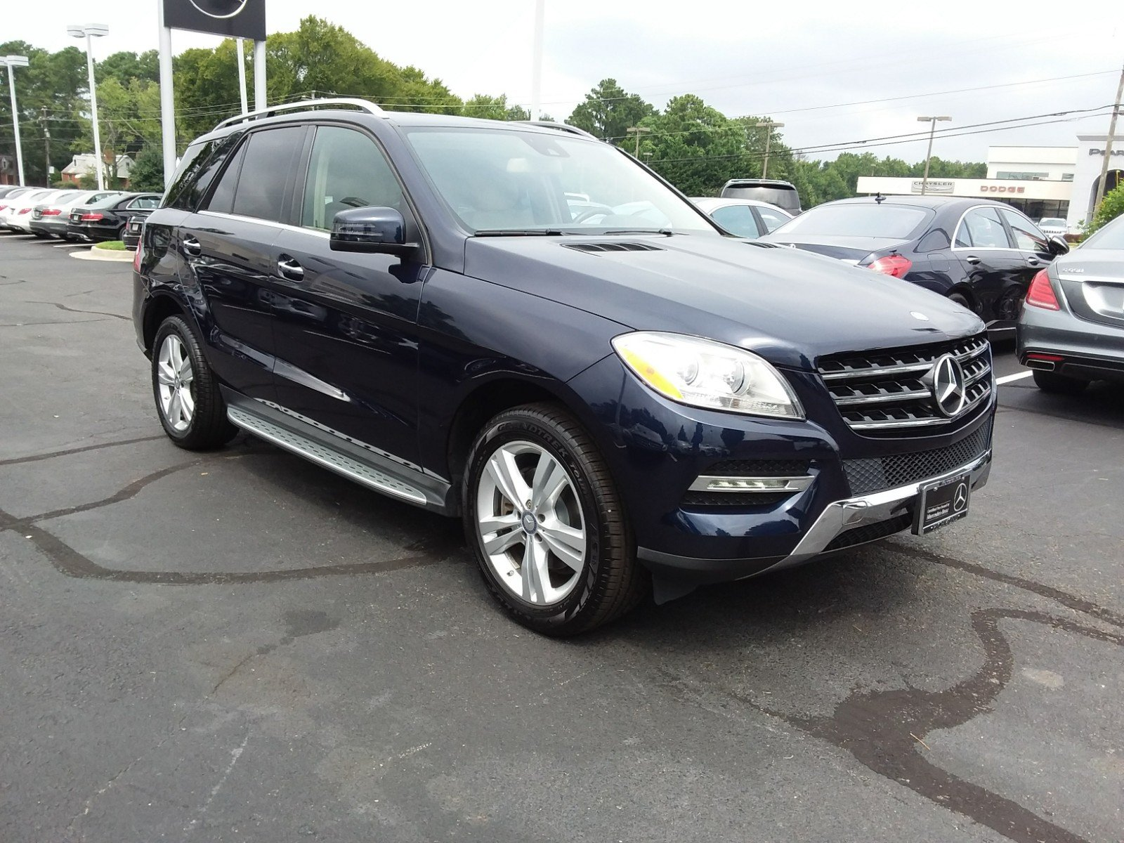 Certified Pre Owned 2015 Mercedes Benz M Class ML 350 SUV in