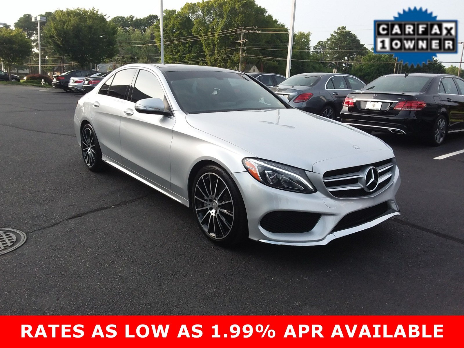 Certified Pre Owned 2015 Mercedes Benz C Class C 300 Sport SEDAN in