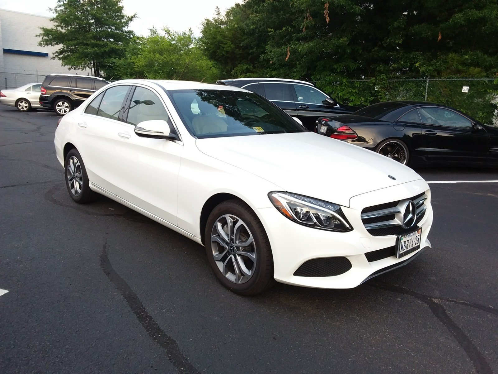 Beautiful Pre Owned 2018 Mercedes Benz C Class C 300