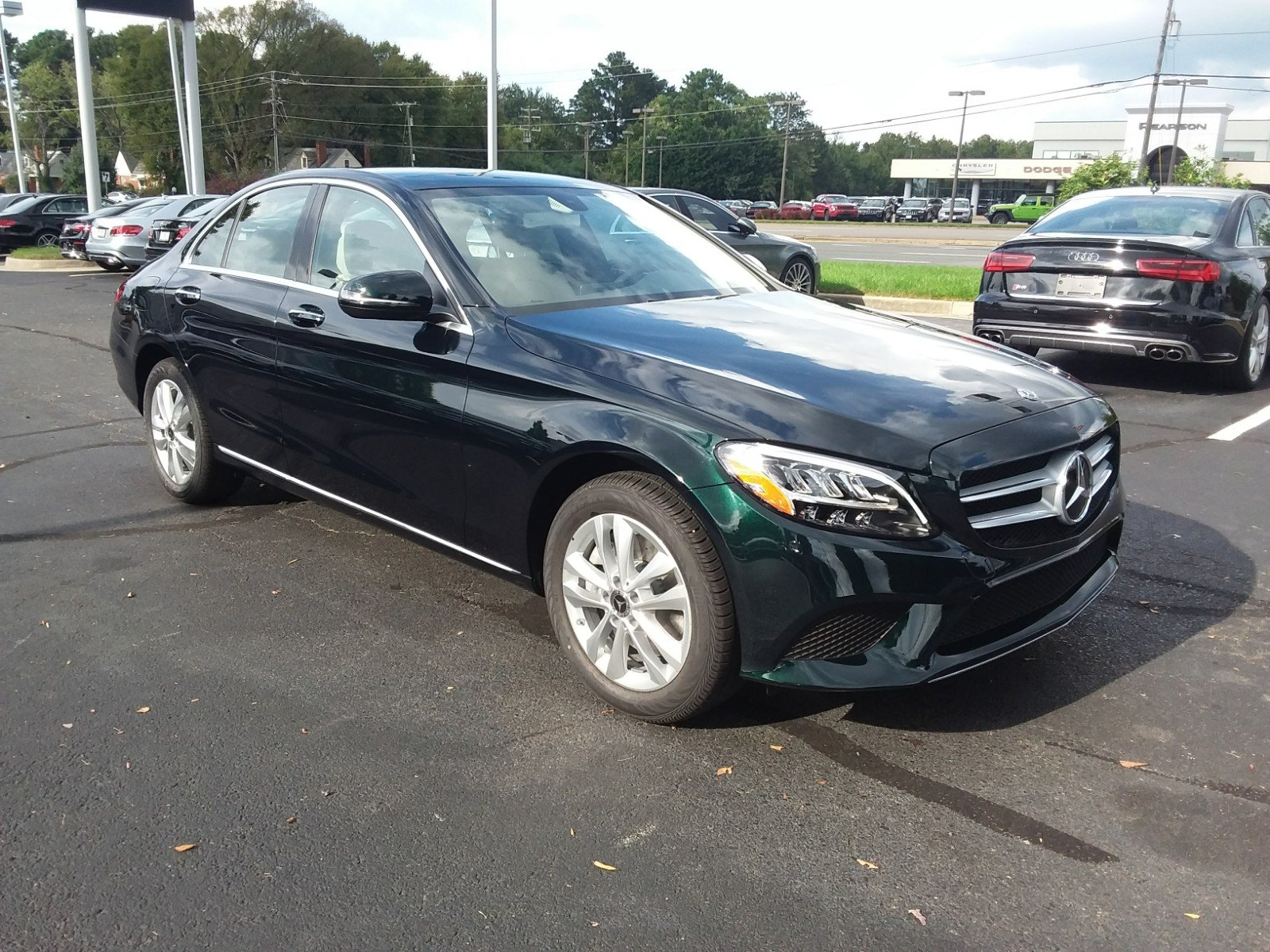 new 2019 mercedes benz c class c 300 sedan in richmond 93363