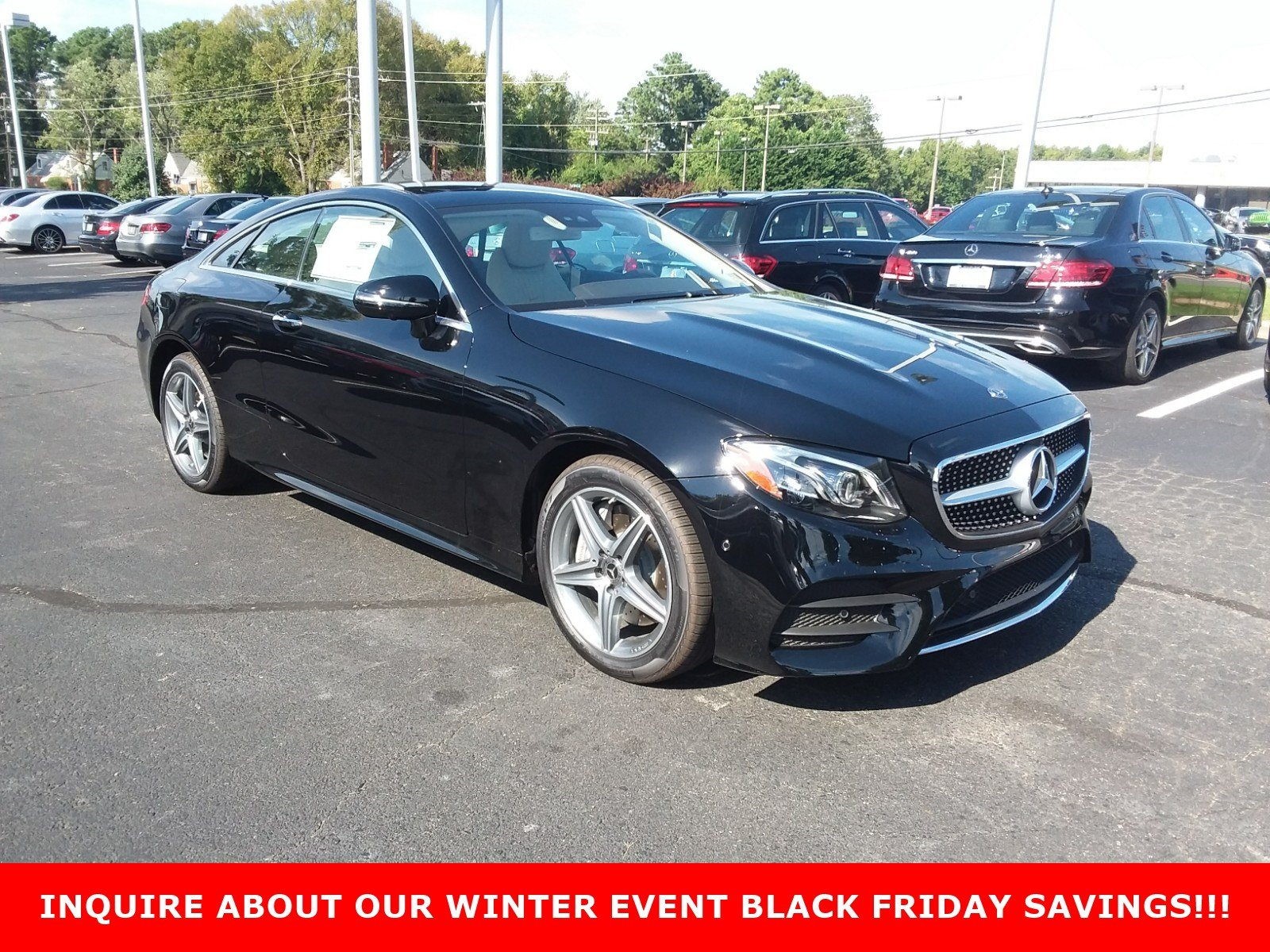 New 2019 Mercedes Benz E Class E 450 2dr Car in Richmond