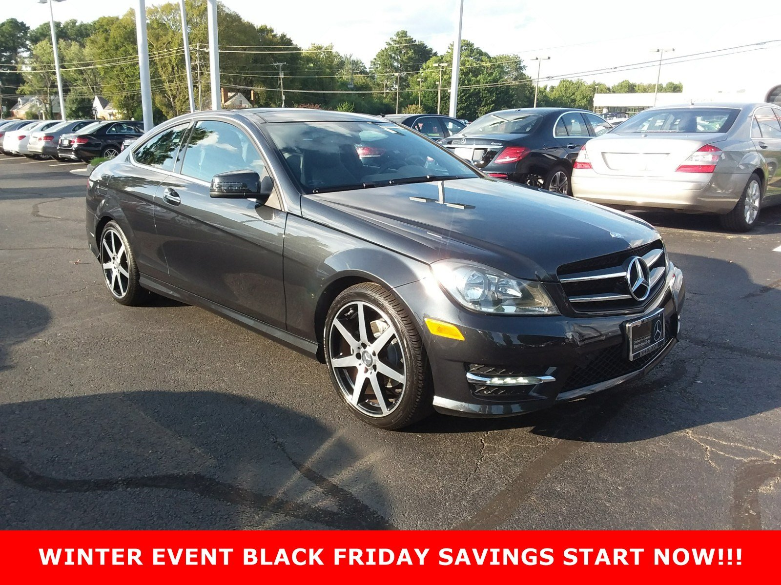 Certified Pre Owned 2015 Mercedes Benz C Class C 250 COUPE in