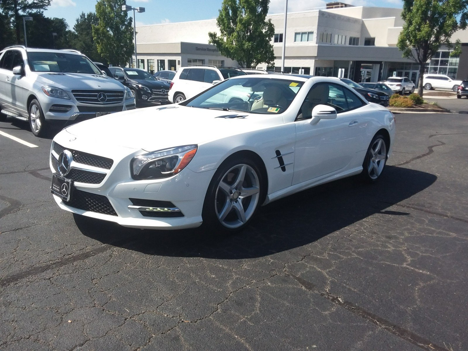 Certified Pre Owned 2016 Mercedes Benz SL SL 400 ROADSTER in