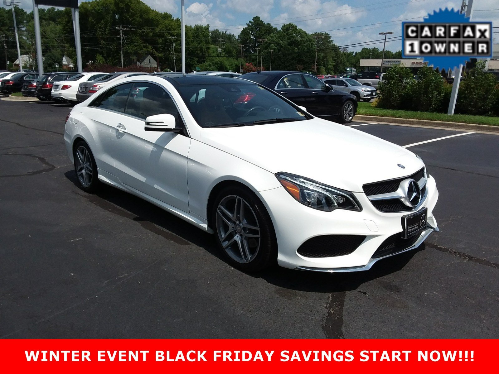 Certified Pre Owned 2017 Mercedes Benz E Class E 400 Sport COUPE in