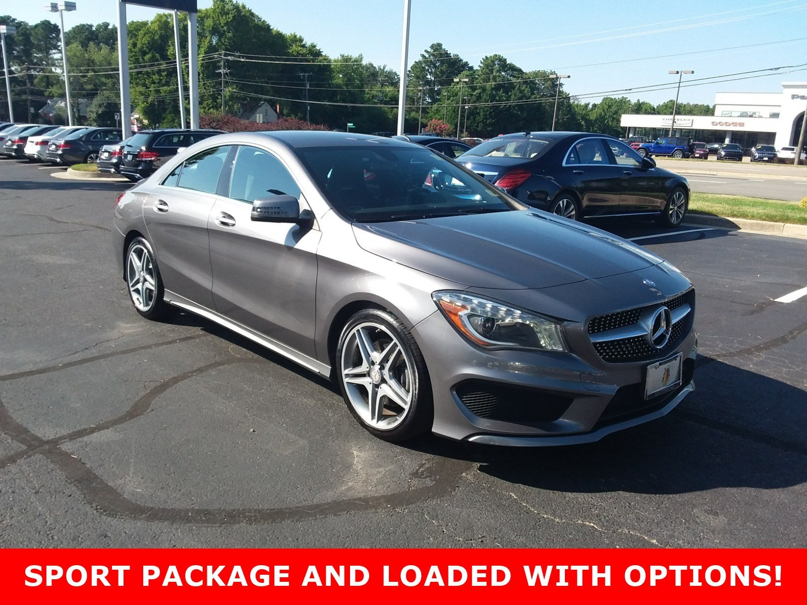 Pre Owned 2014 Mercedes Benz CLA CLA 250 Sport Coupe in Richmond