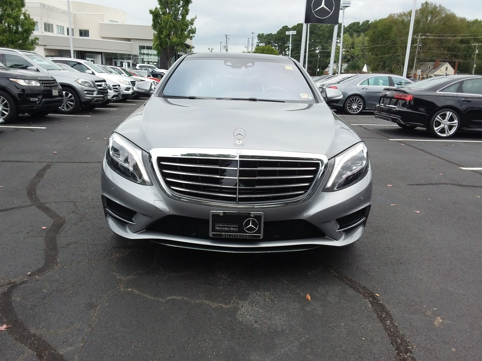 Certified Pre Owned 2015 Mercedes Benz S Class S 550 Sport SEDAN in