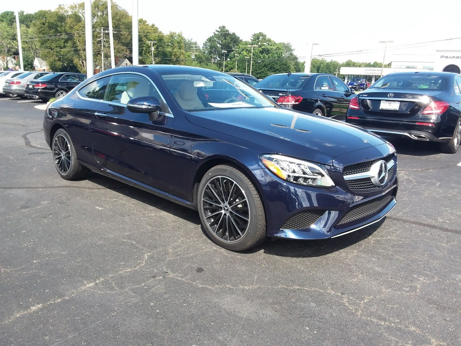 New 2019 Mercedes Benz C Class C 300 COUPE in Richmond