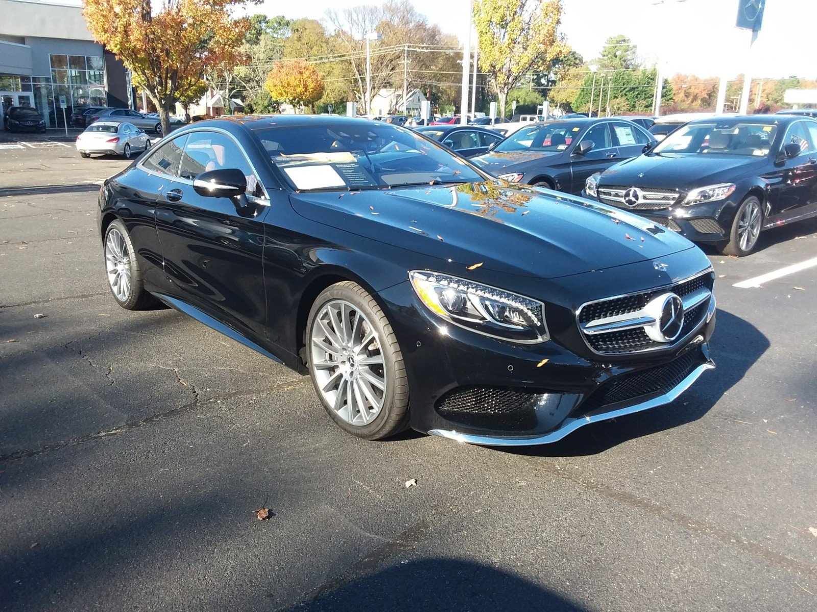 Certified Pre Owned 2017 Mercedes Benz S Class S 550 COUPE in