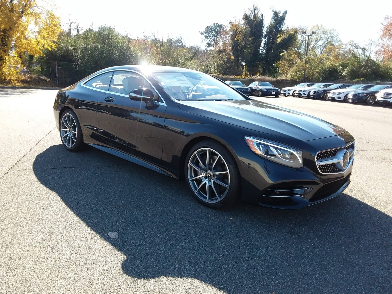 New 2019 Mercedes Benz S Class S 560 COUPE in Richmond