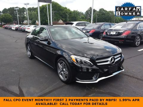 Certified Pre-Owned 2018 Mercedes-Benz C-Class C 300 Sport