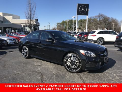 Certified Pre-Owned 2017 Mercedes-Benz C-Class AMG® C 43 Sedan