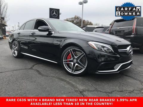 Certified Pre-Owned 2016 Mercedes-Benz C-Class AMG® C 63 S Sedan