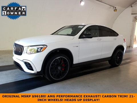 Certified Pre-Owned 2018 Mercedes-Benz GLC AMG® GLC 63 S Coupe