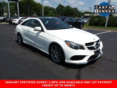 Certified Pre-Owned 2017 Mercedes-Benz E-Class E 400 Sport